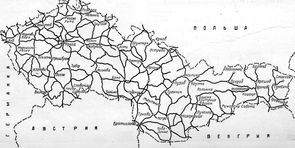Карта железных дорог.(0,15Мб)
